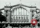 Image of Nazi train and German soldiers arrive at Paris train station Paris France, 1940, second 1 stock footage video 65675072692