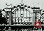 Image of Nazi train and German soldiers arrive at Paris train station Paris France, 1940, second 2 stock footage video 65675072692