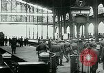 Image of Nazi train and German soldiers arrive at Paris train station Paris France, 1940, second 10 stock footage video 65675072692