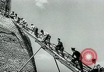 Image of French disassemble Paris defenses during German occupation Paris France, 1940, second 7 stock footage video 65675072695