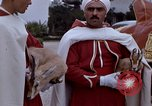 Image of palace guards Tunis Tunisia, 1959, second 11 stock footage video 65675072709