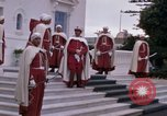 Image of palace guards Tunis Tunisia, 1959, second 7 stock footage video 65675072714