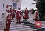 Image of palace guards Tunis Tunisia, 1959, second 9 stock footage video 65675072714