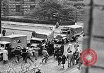 Image of Czechoslovakians revolt against German occupation Prague Czechoslovakia, 1945, second 8 stock footage video 65675072720
