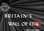 Image of fire wall set up United Kingdom, 1945, second 4 stock footage video 65675072721