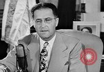 Image of Clinton Anderson United States USA, 1945, second 8 stock footage video 65675072724