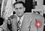 Image of Clinton Anderson United States USA, 1945, second 11 stock footage video 65675072724
