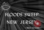 Image of floods New Jersey United States USA, 1945, second 1 stock footage video 65675072725