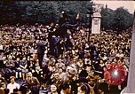 Image of V-E Day celebration London England United Kingdom, 1945, second 4 stock footage video 65675072739