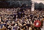 Image of V-E Day celebration London England United Kingdom, 1945, second 8 stock footage video 65675072739