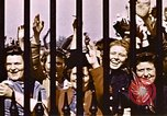 Image of V-E Day celebration London England United Kingdom, 1945, second 4 stock footage video 65675072740