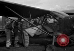 Image of L-5 Sentinel aircraft Saidor New Guinea, 1944, second 8 stock footage video 65675072744