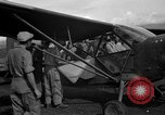 Image of L-5 Sentinel aircraft Saidor New Guinea, 1944, second 9 stock footage video 65675072744
