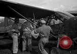 Image of L-5 Sentinel aircraft Saidor New Guinea, 1944, second 11 stock footage video 65675072744
