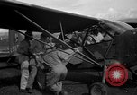 Image of L-5 Sentinel aircraft Saidor New Guinea, 1944, second 12 stock footage video 65675072744