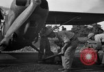 Image of L-5 Sentinel aircraft Saidor New Guinea, 1944, second 12 stock footage video 65675072745