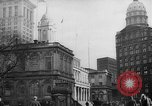 Image of City Hall New York United States USA, 1940, second 5 stock footage video 65675072762