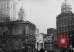 Image of City Hall New York United States USA, 1940, second 7 stock footage video 65675072762