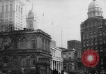 Image of City Hall New York United States USA, 1940, second 8 stock footage video 65675072762