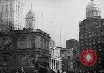 Image of City Hall New York United States USA, 1940, second 9 stock footage video 65675072762