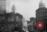 Image of City Hall New York United States USA, 1940, second 10 stock footage video 65675072762