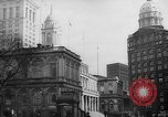 Image of City Hall New York United States USA, 1940, second 11 stock footage video 65675072762