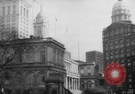 Image of City Hall New York United States USA, 1940, second 12 stock footage video 65675072762