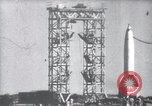 Image of German V-2 rocket White Sands New Mexico USA, 1947, second 1 stock footage video 65675072767