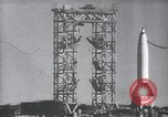 Image of German V-2 rocket White Sands New Mexico USA, 1947, second 2 stock footage video 65675072767