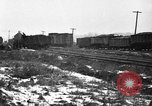 Image of railroad yard United States USA, 1920, second 4 stock footage video 65675072775