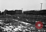 Image of railroad yard United States USA, 1920, second 10 stock footage video 65675072775