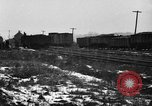 Image of railroad yard United States USA, 1920, second 11 stock footage video 65675072775