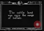 Image of cattle ranch United States USA, 1922, second 4 stock footage video 65675072780