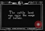 Image of cattle ranch United States USA, 1922, second 5 stock footage video 65675072780