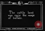 Image of cattle ranch United States USA, 1922, second 6 stock footage video 65675072780
