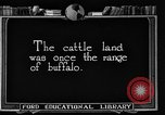 Image of cattle ranch United States USA, 1922, second 8 stock footage video 65675072780