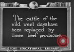 Image of cattle ranch United States USA, 1922, second 5 stock footage video 65675072785