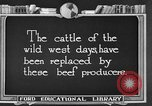Image of cattle ranch United States USA, 1922, second 7 stock footage video 65675072785
