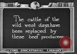 Image of cattle ranch United States USA, 1922, second 10 stock footage video 65675072785