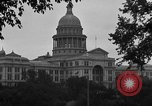 Image of State Capitol building Austin Texas USA, 1920, second 6 stock footage video 65675072792