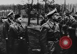 Image of Heinrich Himmler with Karl-Gustav Sauberzweig Neuhammer Germany, 1943, second 2 stock footage video 65675072797