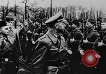 Image of Heinrich Himmler with Karl-Gustav Sauberzweig Neuhammer Germany, 1943, second 4 stock footage video 65675072797
