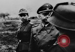Image of Heinrich Himmler with Karl-Gustav Sauberzweig Neuhammer Germany, 1943, second 6 stock footage video 65675072797