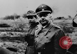 Image of Heinrich Himmler with Karl-Gustav Sauberzweig Neuhammer Germany, 1943, second 7 stock footage video 65675072797