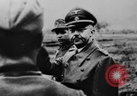 Image of Heinrich Himmler with Karl-Gustav Sauberzweig Neuhammer Germany, 1943, second 8 stock footage video 65675072797