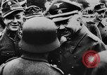 Image of Heinrich Himmler with Karl-Gustav Sauberzweig Neuhammer Germany, 1943, second 9 stock footage video 65675072797