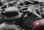 Image of Heinrich Himmler with Karl-Gustav Sauberzweig Neuhammer Germany, 1943, second 10 stock footage video 65675072797