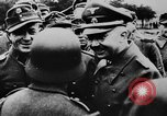 Image of Heinrich Himmler with Karl-Gustav Sauberzweig Neuhammer Germany, 1943, second 11 stock footage video 65675072797
