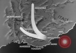 Image of Operation Dragoon Southern France, 1944, second 8 stock footage video 65675072838