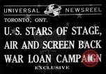 Image of War Loan Campaign Toronto Ontario Canada, 1941, second 2 stock footage video 65675072843